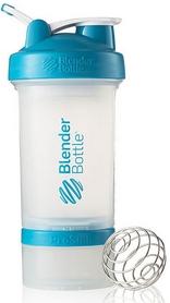 Шейкер BlenderBottle ProStak Original 650 мл с шариком прозрачный/аква