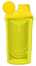 Шейкер ShakerStore Wave 600 мл желтый