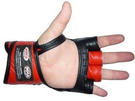 Фото 2 к товару Перчатки для MMA Power System Katame Red
