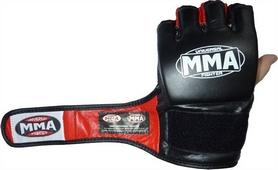 Фото 3 к товару Перчатки для MMA Power System Katame Red