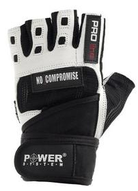 Перчатки спортивные Power System No Compromise Black-White - M