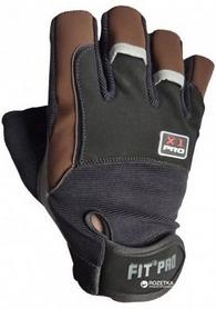Перчатки спортивные Power System X1 Pro Black/Brown