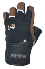 Перчатки спортивные Power System X2 Pro Black/Brown
