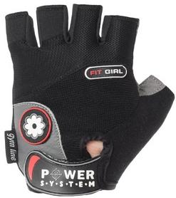 Перчатки спортивные Power System Fit Girl Black