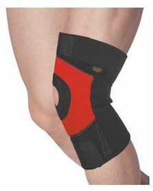 Наколенник спортивный Power System Neo Knee Support PS-6012 Black-Red