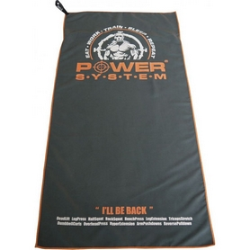 Фитнес-полотенце Power System Gym Bench Towel PS-7002 Grey