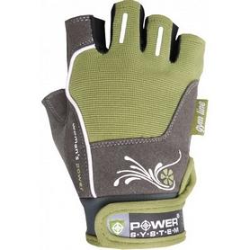Перчатки спортивные Power System Woman's Power PS-2570 Green