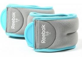 Утяжелители для рук Reebok Cyan RAWT-11074BL 2 шт по 1 кг