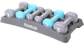Фото 1 к товару Набор гантелей 1-3 кг Reebok RAWT-11156