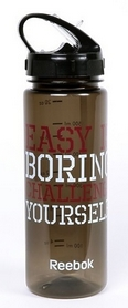 Бутылка спортивная Reebok Easy 0,65 л Black