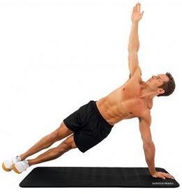Мат для упражнений Iron Gym TPE