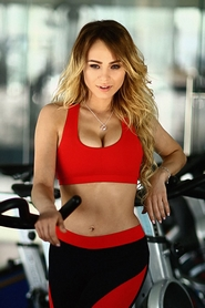 Топ Designed For Fitness Basic Red push up