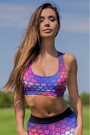 Топ Designed For Fitness Mosaic push up
