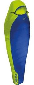 Мешок спальный (спальник) Salewa Bike & Hike правый синий/желтый