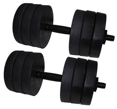 Гантели наборные Newt Rock 2 шт по 15 кг