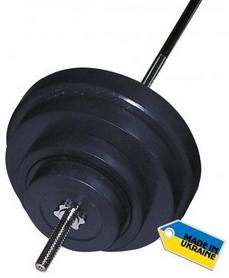 Штанга наборная Newt Rock 92 кг