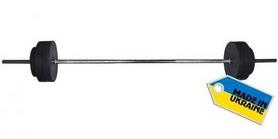 Фото 2 к товару Штанга наборная Newt Rock 32 кг