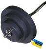 Штанга наборная Newt Rock 40 кг w-образный гриф - фото 1