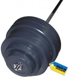 Фото 1 к товару Штанга наборная Newt Rock 122 кг