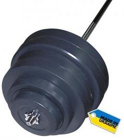 Фото 1 к товару Штанга наборная Newt Rock 157 кг + подарок