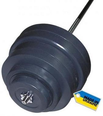 Штанга наборная Newt Rock 180 кг
