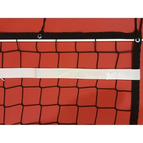 Фото 3 к товару Сетка для волейбола Netex с тросом и антеннами IV (черная)