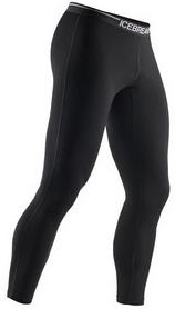 Термобрюки мужские Icebreaker BF 200 Oasis Leggings черные