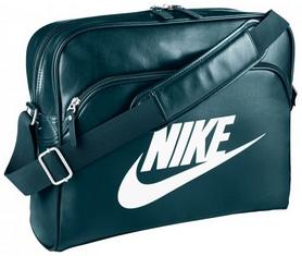 Сумка мужская Nike Heritage Si Track Bag зеленая