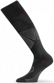 Термоноски лыжные Lasting SWL черные - XL