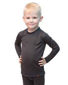 Термофутболка детская Turbat Zajchyk серая