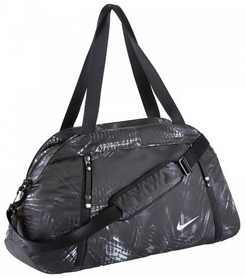 Сумка городская Nike Auralux Club-Print темно-серая