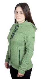 Толстовка женская Turbat Dzembronya зеленая