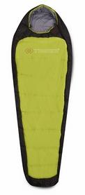 Мешок спальный (спальник) Trimm Impact 185 L kiwi green/dark левый