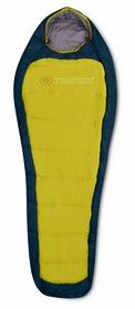 Мешок спальный (спальник) Trimm Impact 195 L lemon/lagoon левый