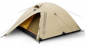 Палатка двухместная Trimm Frontier sand бежевая