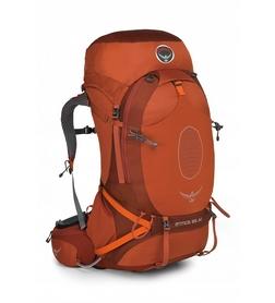 Рюкзак туристический Osprey Atmos AG 65 л Cinnabar Red LG