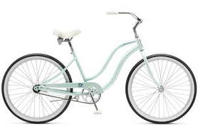 "Велосипед городской Schwinn Cruiser S1 Women 26"" 2017 голубой"