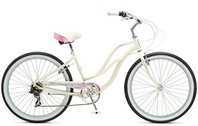 "Велосипед городской Schwinn Cruiser Sprite Women 26"" 2017 белый"