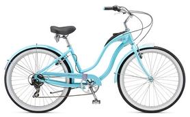"""Велосипед городской женский Schwinn Hollywood Women 26"""" 2017 голубой"""