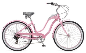 "Велосипед городской Schwinn Hollywood Women 26"" 2017 розовый"