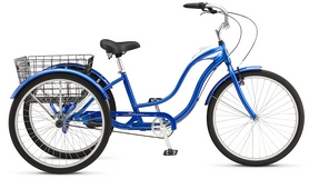 "Велосипед городской Schwinn Town&Country 26"" 2017 синий"