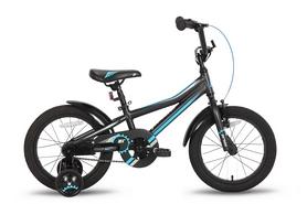 """Велосипед детский 16"""" Pride Arthur 2016 черно-синий матовый"""