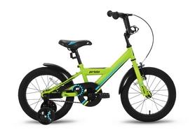 """Велосипед детский 16"""" Pride Flash 2016 зеленый матовый"""