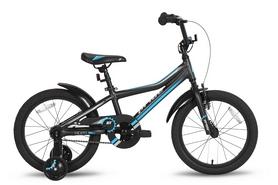 """Велосипед детский 18"""" Pride Rider 2016 черно-синий"""
