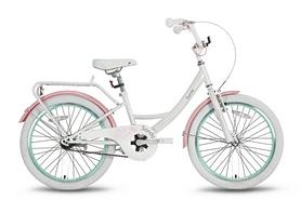 """Велосипед детский 20"""" Pride Sandy 2016 бело-розовый глянцевый"""