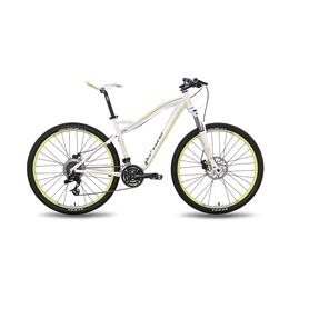 """Велосипед горный женский Pride XC-650 MD W 27,5"""" 2016 бело-зеленый матовый, рама - 16"""""""