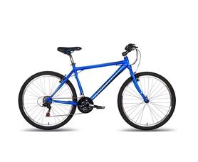 """Велосипед подростковый горный Pride XC-1.0 26"""" 2016 сине-черный матовый, рама - 17"""""""