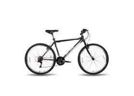 """Велосипед подростковый горный Pride XC-1.0 26"""" 2016 черно-белый матовый, рама - 19"""""""