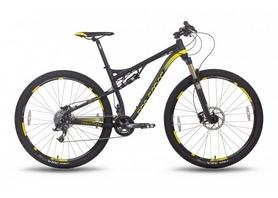 """Велосипед горный мужской Pride XC-29 Marathon 29"""" 2015 черно-жёлтый, рама - 20"""""""
