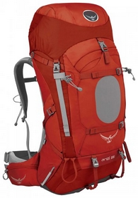 Рюкзак туристический Osprey Ariel 65 л Vermillion Red WS